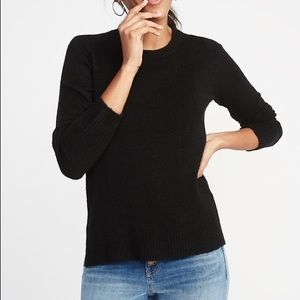 NEW Old Navy • Black Crewneck Sweater Large